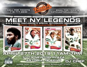 NY Football Fun Day - Meet the Legends @ Katch Astoria | New York | United States