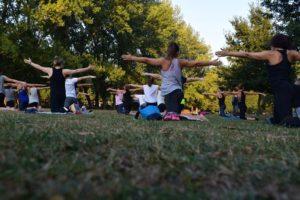 Yoga Under The Astoria Stars @ Astoria Park | New York | United States