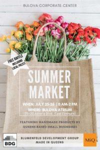 Summer Market with MiQ @ Bulova Corporate Center