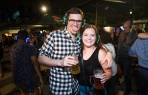 Beer Garden Silent Disco Party @ Bohemian Hall & Beer Garden