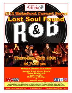 2019 Waterfront Concert Series: Lost Soul Found @ Astoria Park Great Lawn | New York | New York | United States