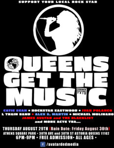 QUEENS GET THE MUSIC festival / Summer 2019 @ Athens Square Park