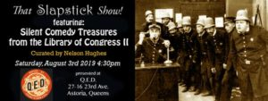 That Slapstick Show! Silent Comedy Treasures From The Library Of Congress II @ QED