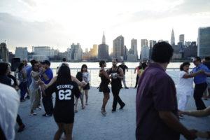 Sunset Salsa Dancing @ LIC Landing