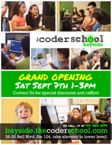 The Coder School Bayside Grand Opening @ The Coder School Bayside | New York | United States