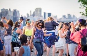 Summer Sunset Family Silent Disco with Face Painting! (First 100 RSVPs FREE) @ LIC Landing