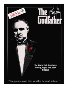 2019 Movies on the Waterfront Series! The Godfather! @ Astoria Park Great Lawn