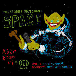 The Storrs Objection: Space @ QED   New York   United States