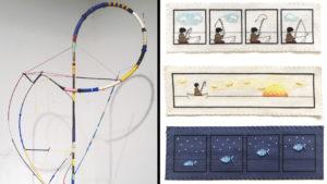 Amir Badawi and Maria Lulu Varona: Works in Thread @ Flux Factory | New York | United States