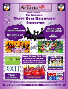 """4th Annual """"Batty Over Halloween"""" Celebration! @ Astoria Park Great Lawn 