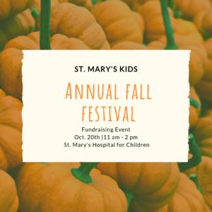Fall Festival @ St. Mary's Hospital for Children | New York | United States