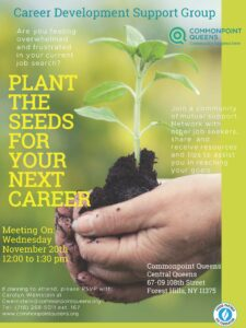 Plant the Seeds for Your Next Career @ Commonpoint Queens Central Queens | New York | United States