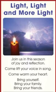 Annual Candlelight Service @ Unitarian Universalist Congregation of Queens | New York | United States