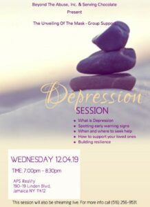 Depression (Session) @ APS Reality | New York | United States