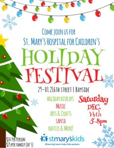St. Mary's Holiday Festival @ St. Mary's Hospital for Children   New York   United States