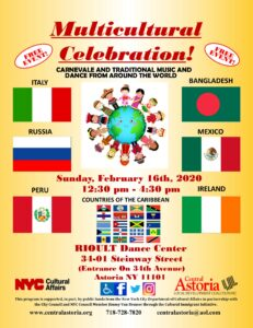 Multicultural Celebration! @ RIOULT Dance Center | New York | United States