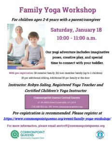 Family Yoga Workshop @ Commonpoint Queens Central Queens | New York | United States