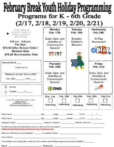 Mid-Winter Recess Full Holiday Programming @ Commonpoint Queens Central Queens | New York | United States