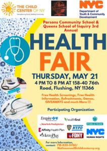COMMUNITY HEALTH AND WELLNESS FAIR @ Parsons Community School | New York | United States