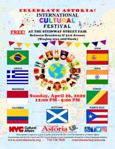 Celebrate Astoria! International Cultural Festival! @ Steinway Street Fair | New York | United States