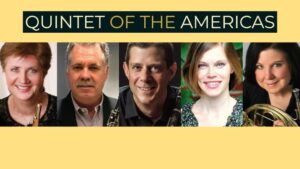 Quintet of the Americas in Concert @ Flushing Library | New York | United States