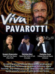 Viva Pavarotti! @ St. John's University, Marillac Hall | New York | United States