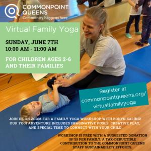 Virtual Family Yoga @ Virtual