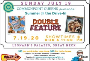 Summer at the Drive-in: The Sandlot and Grease Double Feature @ Leonard's Palazzo | Great Neck | New York | United States