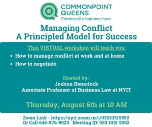 Managing Conflict: A Principled Model for Success