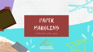 Virtual STEAM Workshop: Paper Marbling @ Lewis Latimer House Museum | New York | United States