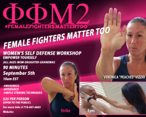 Womens Self Defense Workshop @ Virtual | New York | United States