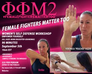 Womens Self Defense Workshop @ Virtual | New York | United States