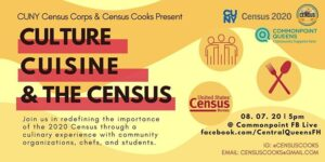 Culture, Cuisine, and the Census @ virtual