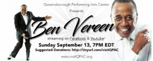 Ben Vereen (LIVE-STREAMING ONLINE) @ Queensborough Performing Arts Center | New York | United States