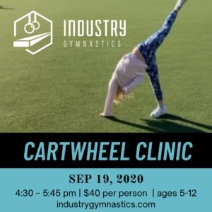 Industry Gymnastics Cartwheel Clinic @ Industry Gymnastics | New York | United States