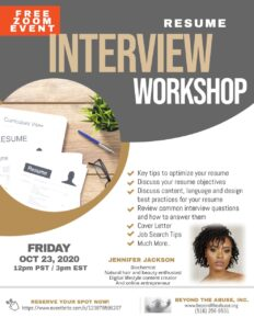 Resume / Interview Workshop @ Online