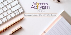 WomensActivism.NYC Story-a-thon @ Online - Zoom | New York | United States