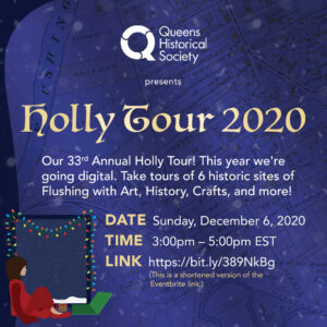 2020 Holiday Historic House Tour @ Online   New York   United States