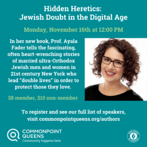 Hidden Heretics: Jewish Doubt in the Digital Age @ virtual