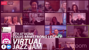 Louis Armstrong Legacy Virtual Jazz Jam @ Flushing Town Hall at Home | New York | United States
