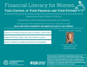 Financial Literacy for Women: Saving & Budgeting, Bank Statements, Credit & Debt @ virtual
