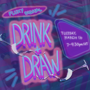 Digital Drink + Draw Tuesday @ Online | New York | United States