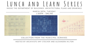 Lunch & Learn: The Dept. of Buildings' Architectural Plans Collection @ Online - Zoom | New York | United States