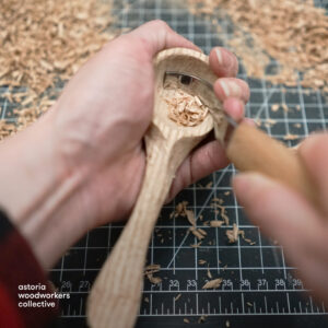 Carve a Wooden Spoon @ Online