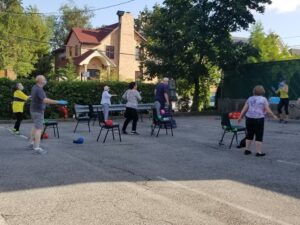 Outdoor Exercise Classes at the Tanenbaum Family Pool