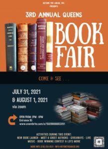 3rd Annual Queens Book Fair @ Online
