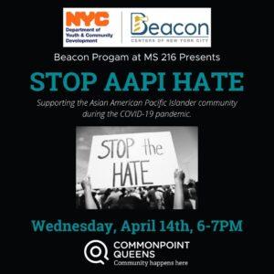 Stop AAPI Hate @ virtual