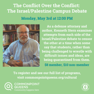 The Conflict Over the Conflict: The Israel/Palestine Campus Debate @ virtual