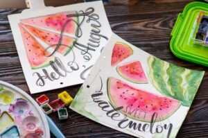 Food Illustration Watercolor Workshop - VIRTUAL @ Alley Pond Environmental Center | New York | United States