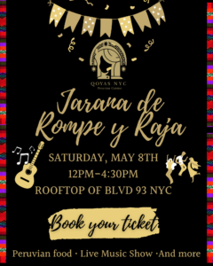 Peruvian Jarana Pop-Up @ Blvd. 93 NYC | New York | United States